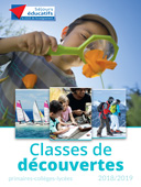 classes de decouvertes 2018 19